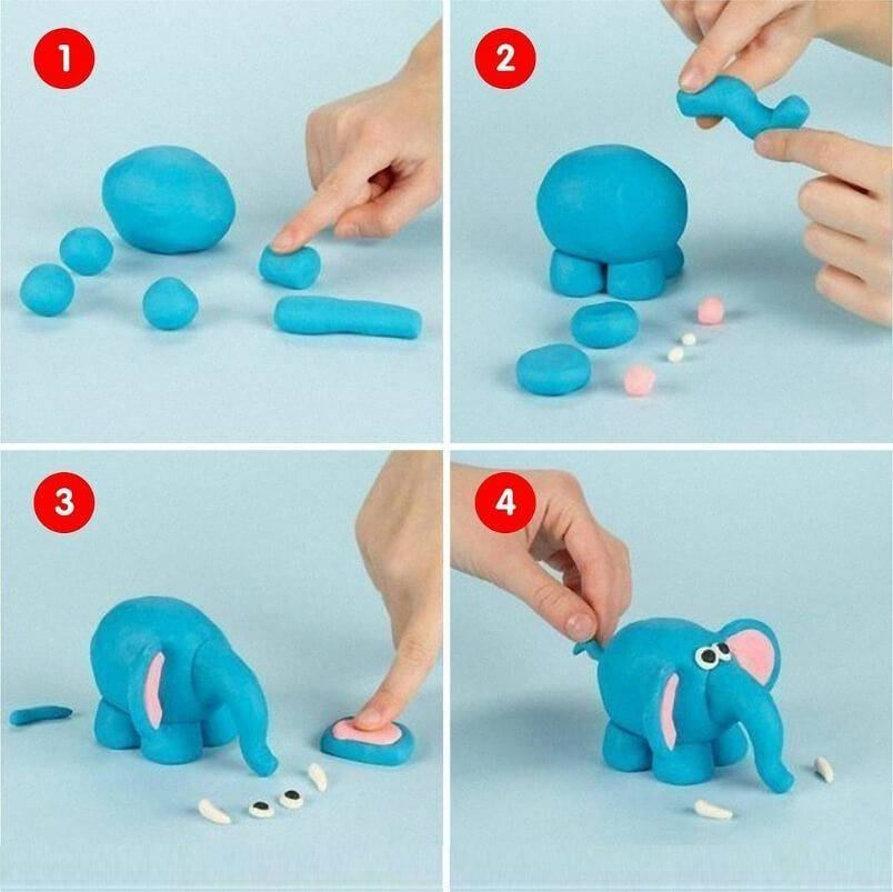 Занимательные уроки по лепке фигурок из пластилина