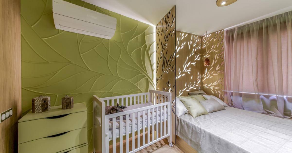 Спальня, совмещенная с детской (57 фото): тонкости зонирования комнаты, интерьер родительской спальни с кроваткой