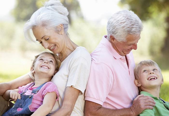 Для бабушек и дедушек!