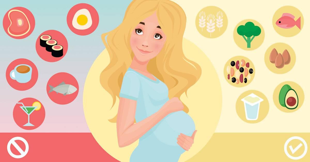 Питаемся правильно во время беременности