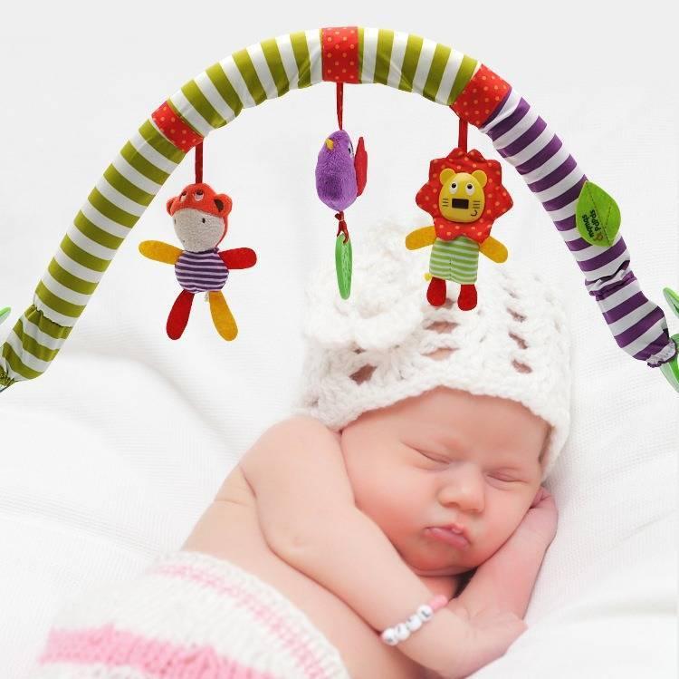 Игрушки-погремушки для новорожденных: делаем правильный выбор