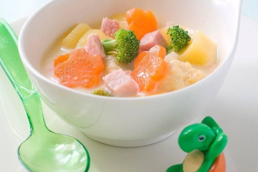 Молочный суп для ребенка. рецепты молочных супов для детей.