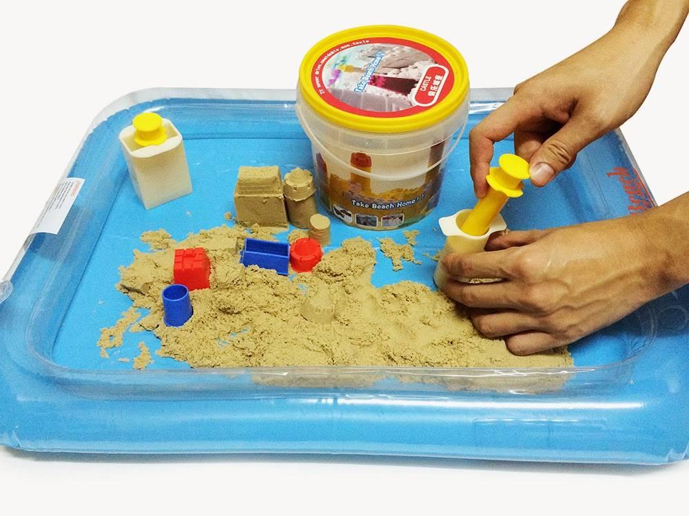 Кинетический песок своими руками | активная мама