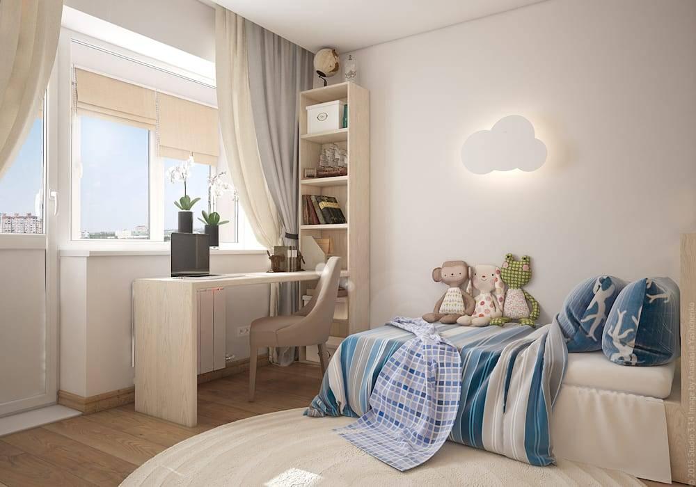 Спальня и детская в одной комнате (83 фото): зонирование комнаты, дизайн интерьера, плюсы и минусы совмещенния