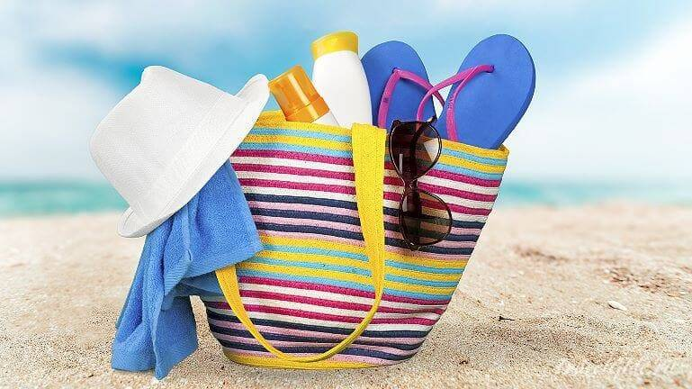 Что взять с собой на море и полный список вещей для отдыха