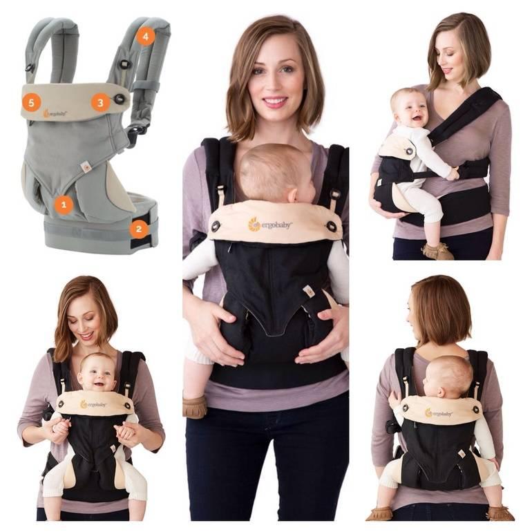 Эрго-рюкзак для новорожденных малышей