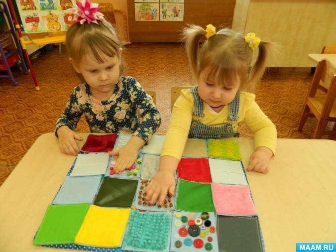Игры для сенсорного развития детей 2-3 лет