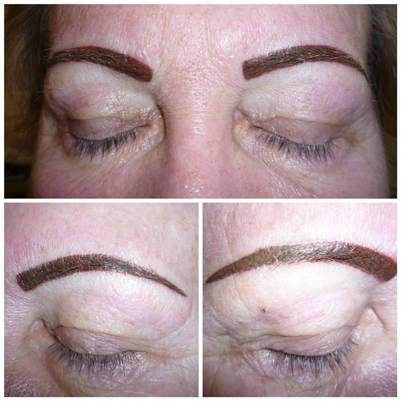 Можно ли красить брови краской для волос: почему нельзя покрасить после хны или татуажа, ресницы после перманентного макияжа беременным