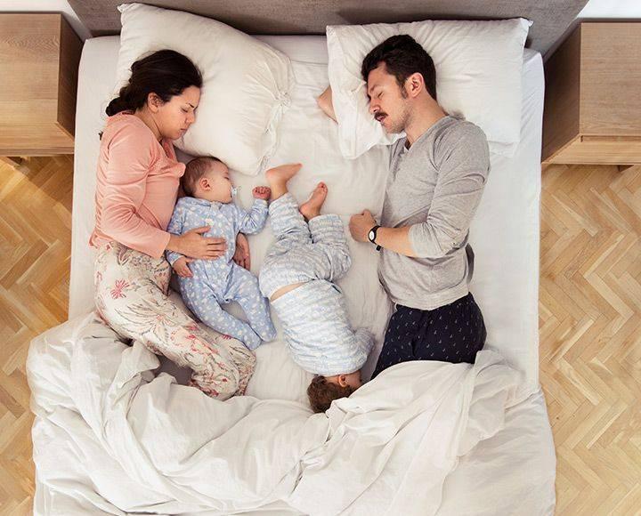 Совместный сон с новорожденным малышом: за и против - мамэксперт