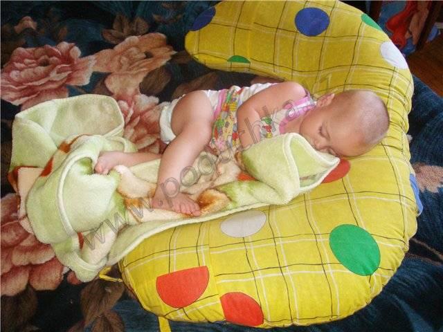 Можно ли спать на животе новорожденному?