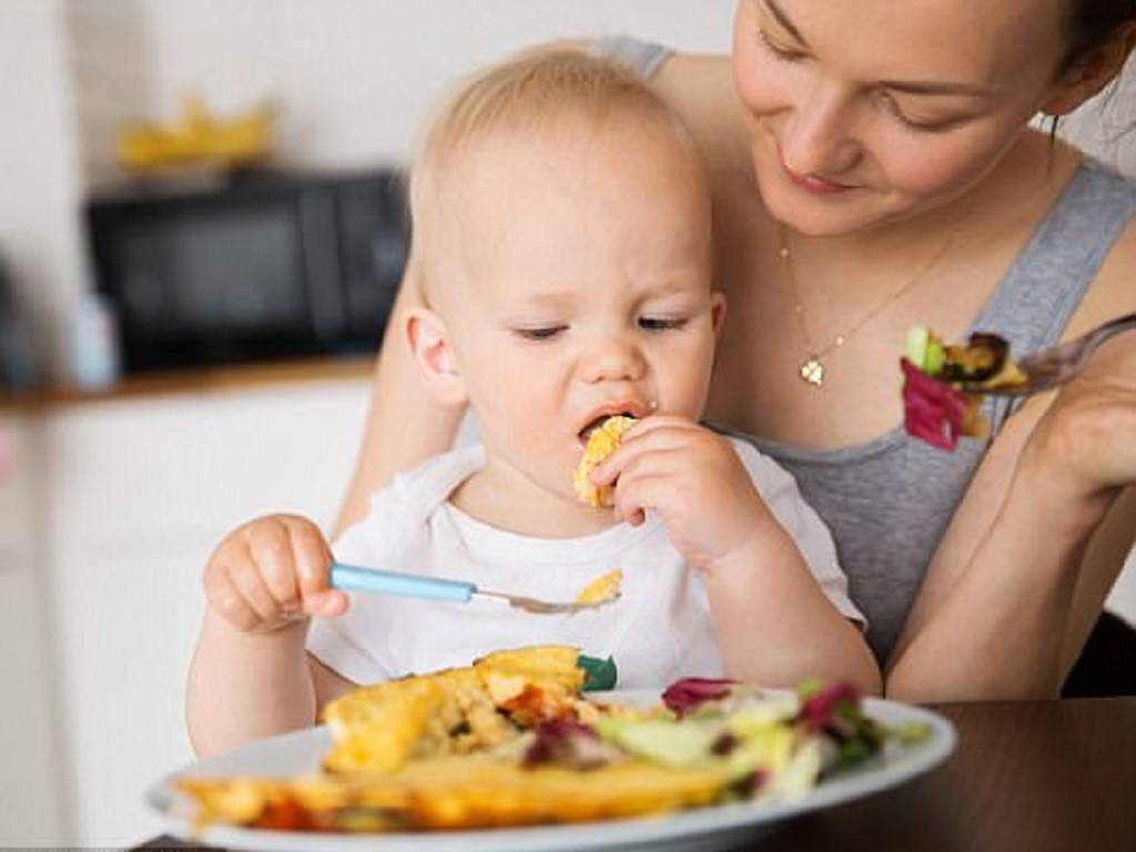 Как научить ребенка жевать твердую пищу, советы доктора комаровского