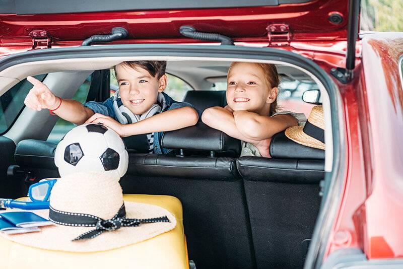Путешествуем с детьми на машине - что важно знать