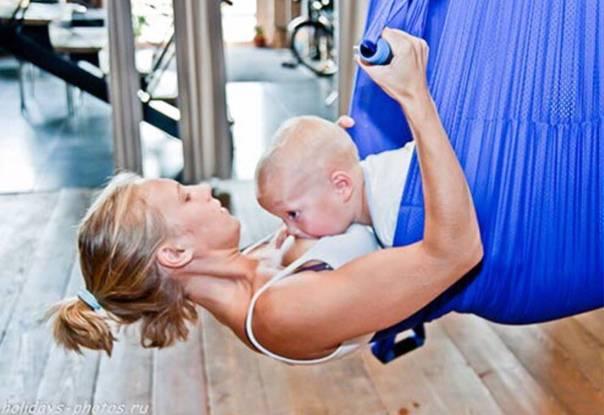 Когда можно заниматься спортом после родов кормящей маме при ГВ: бег, фитнес
