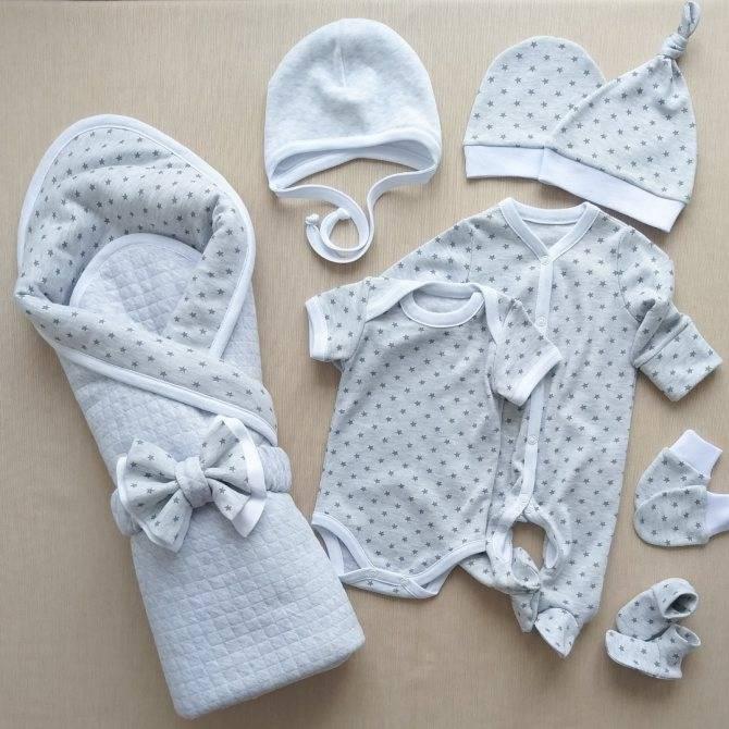 Какая одежда нужна для новорожденных на выписку   детские товары