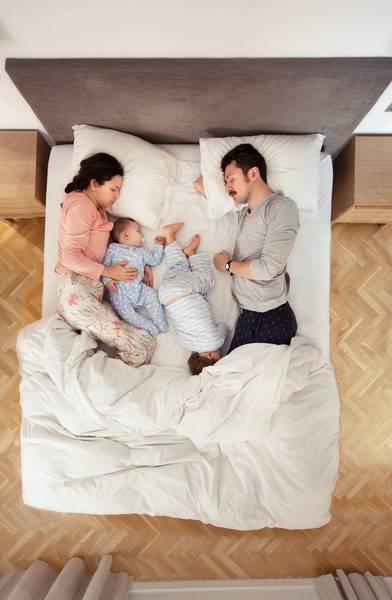 Совместный сон с новорожденным - как организовать сон с малышом