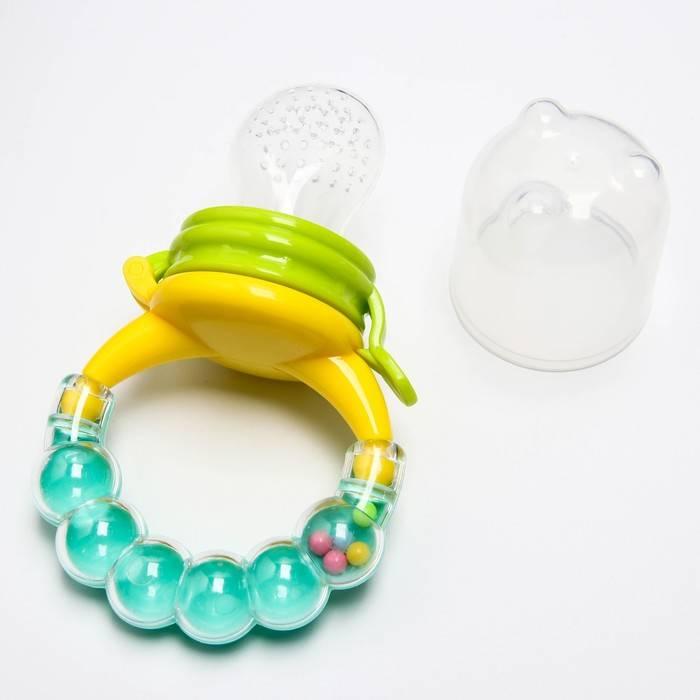 Ниблер для прикорма: силиконовый или сеточкой (фото) — какой лучше для кормления?