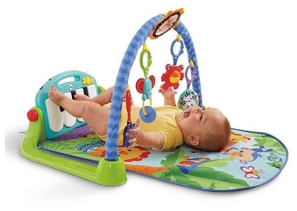 Развивающий коврик - с какого возраста (месяца) можно использовать, какие виды бывают, как выбрать лучший (отзывы, фото и видео)