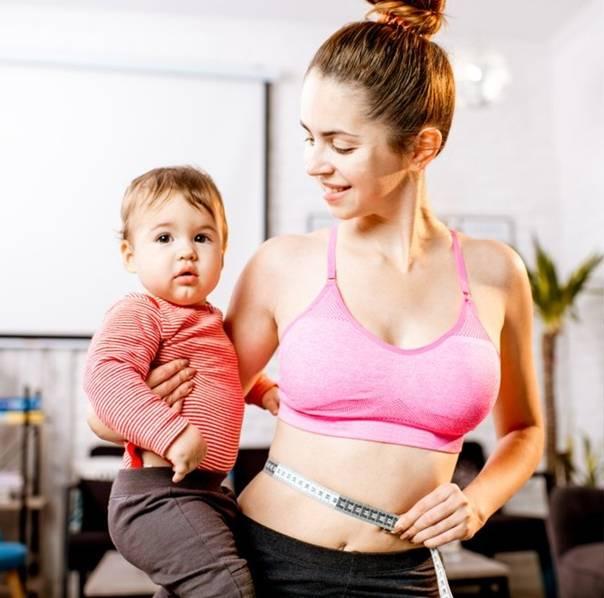 Фигура у мамы при кормлении грудью