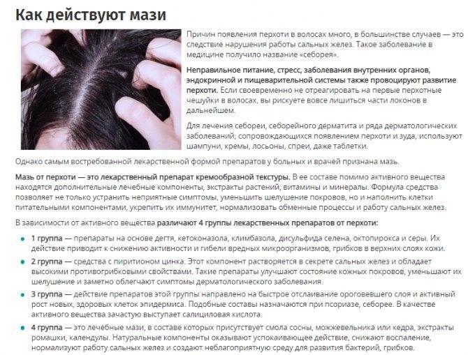 Виды перхоти: диагностика и лечение