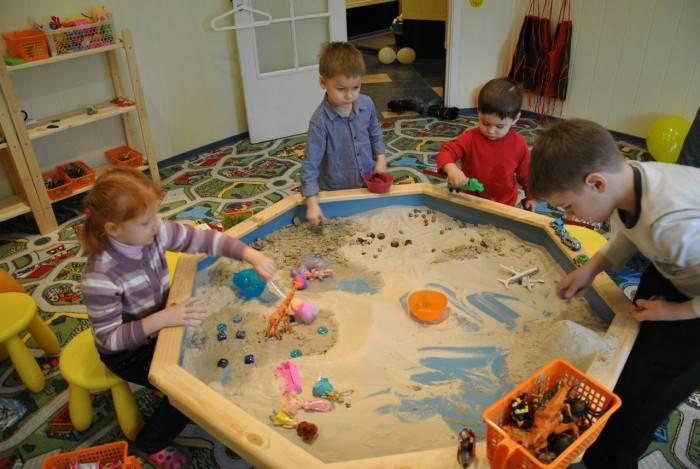 Конспекты занятий по песочной терапии для детей старшего дошкольного возраста