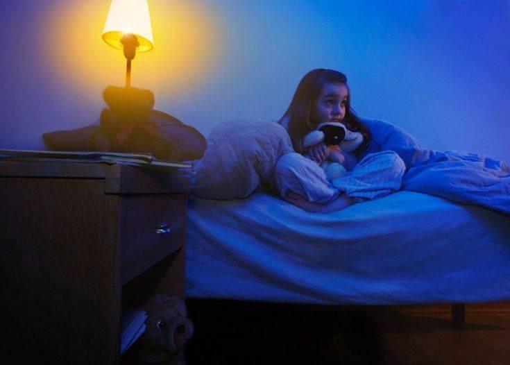 Детские истерики во время сна
