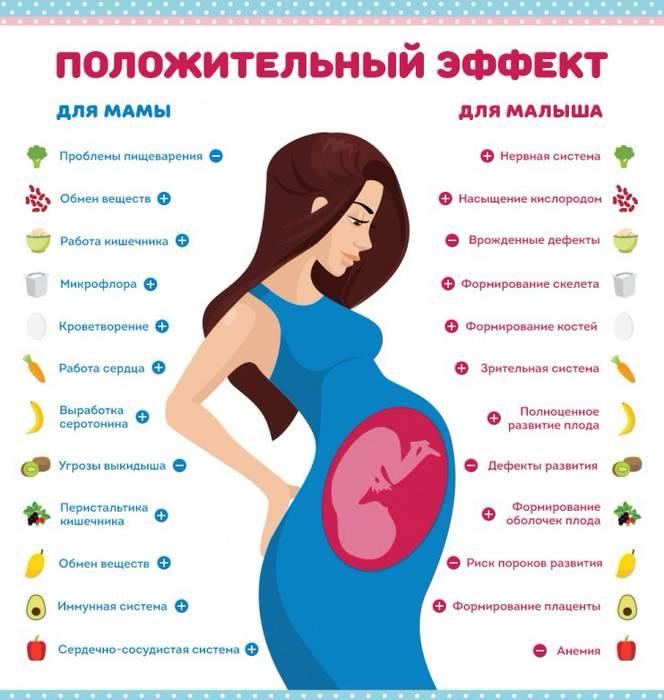 Список продуктов при беременности, какие можно есть на разных сроках