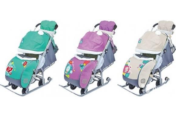 Топ-9 лучших санок-колясок для детей в рейтинге zuzako 2021 года