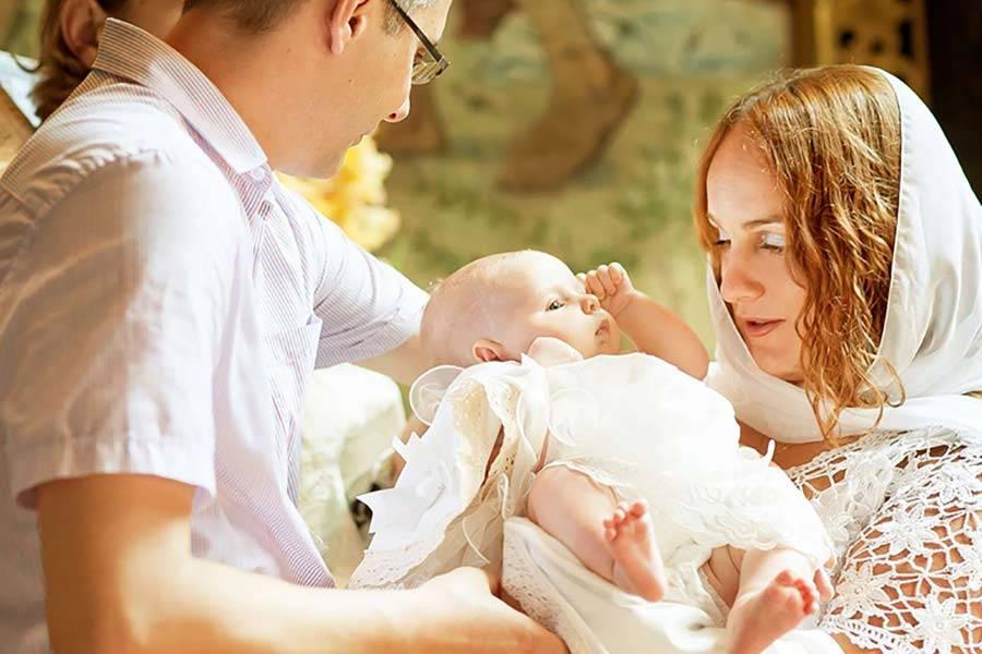 Правила крещения ребенка в православной церкви