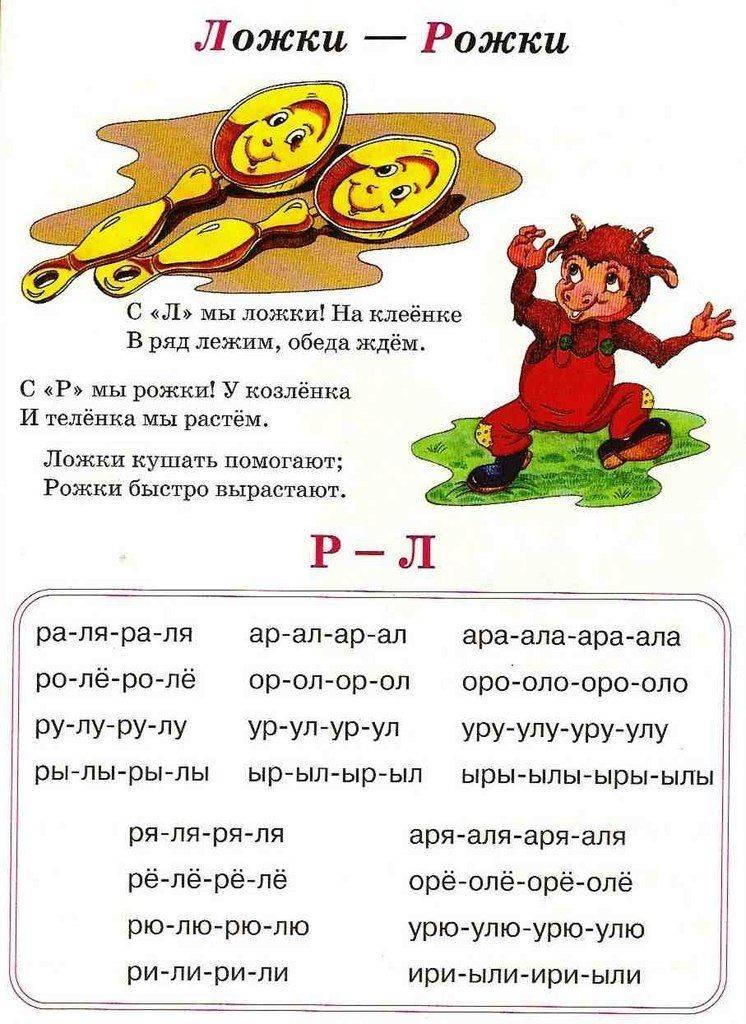Как научить ребенка говорить букву «л» твердую и мягкую: упражнения и советы логопеда