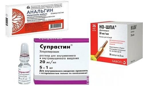 Дозировка анальгина и димедрола для укола от температуры взрослым