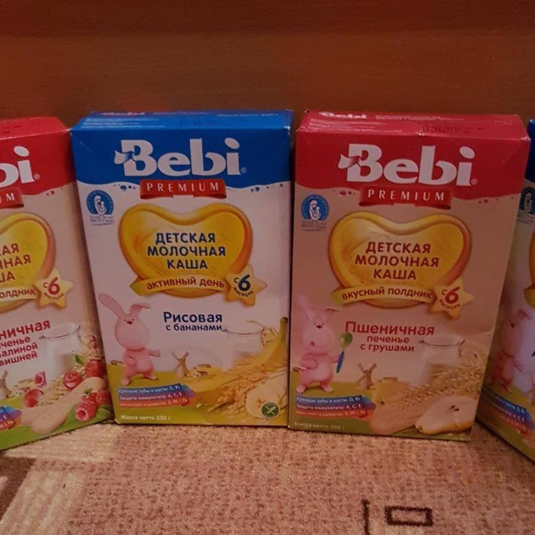 Молочные каши для детей до года: на что обратить внимание при покупке