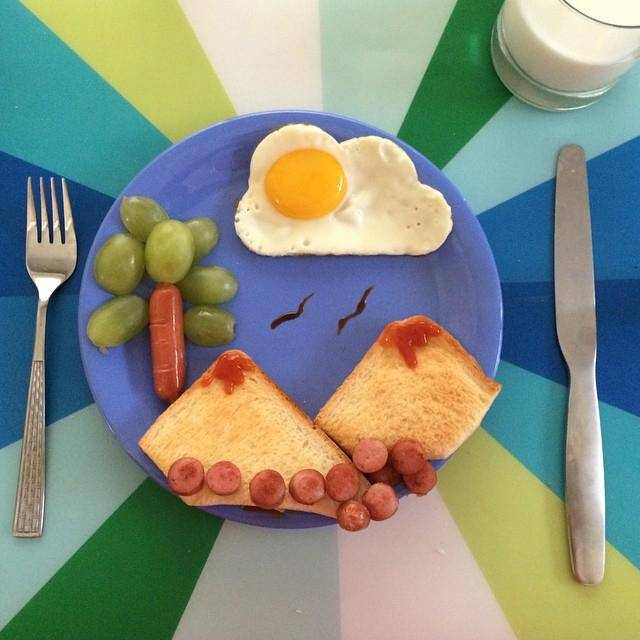 Вкусные, полезные и быстрые завтраки для детей
