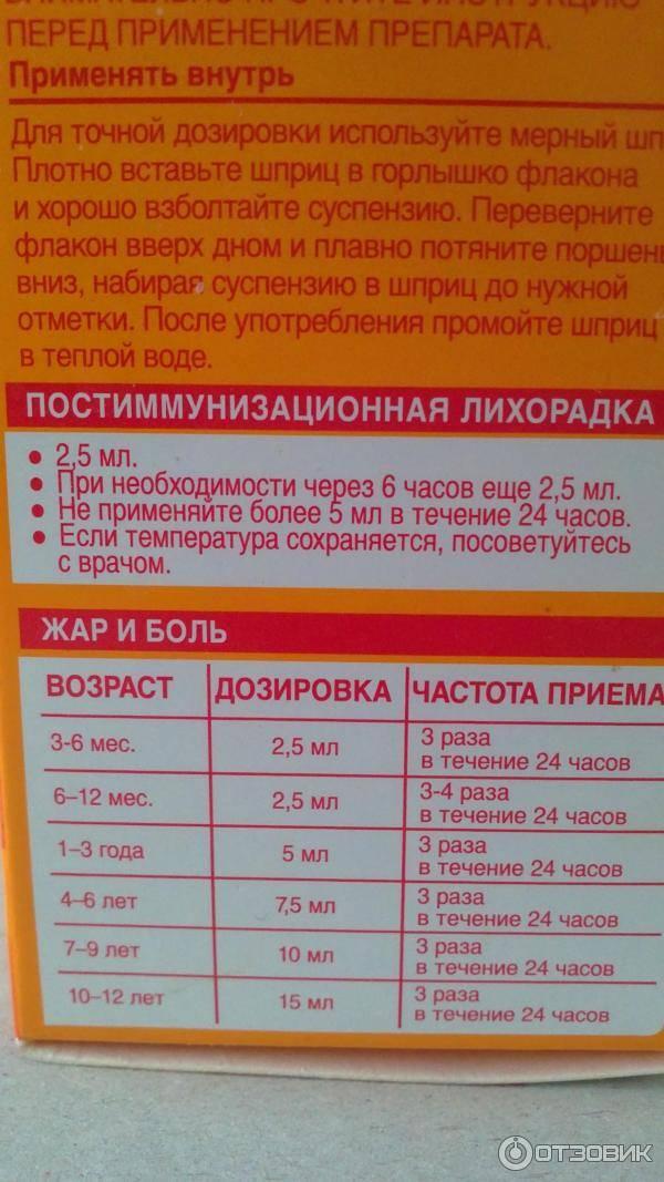 Нурофен для детей. инструкция по применению. справочник лекарств, медикаментов, бад