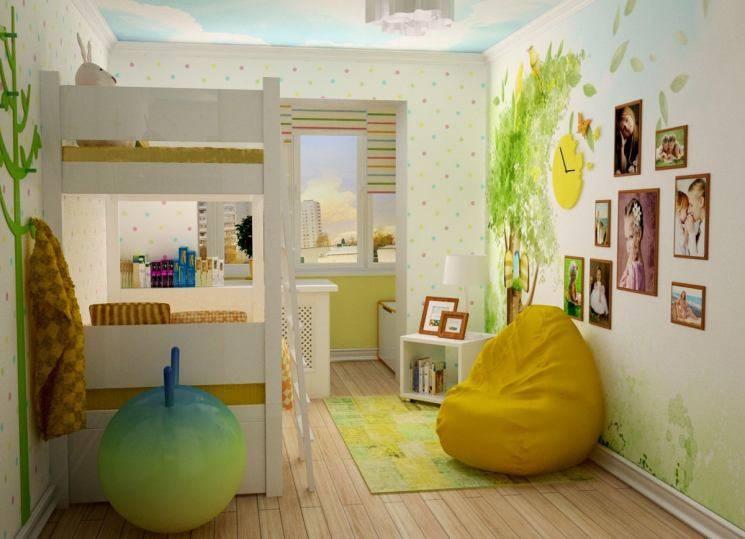 Зонирование детской комнаты: основные правила и рекомендации. 90 фото идей!