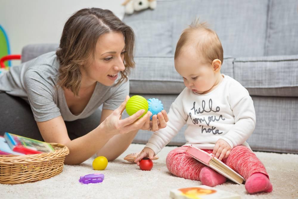 Игровые занятия для самых маленьких – развитие в 2 года