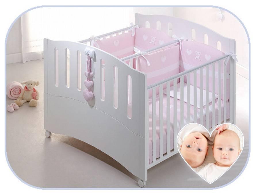 Кровать для двойни новорожденных - варианты | как выбрать