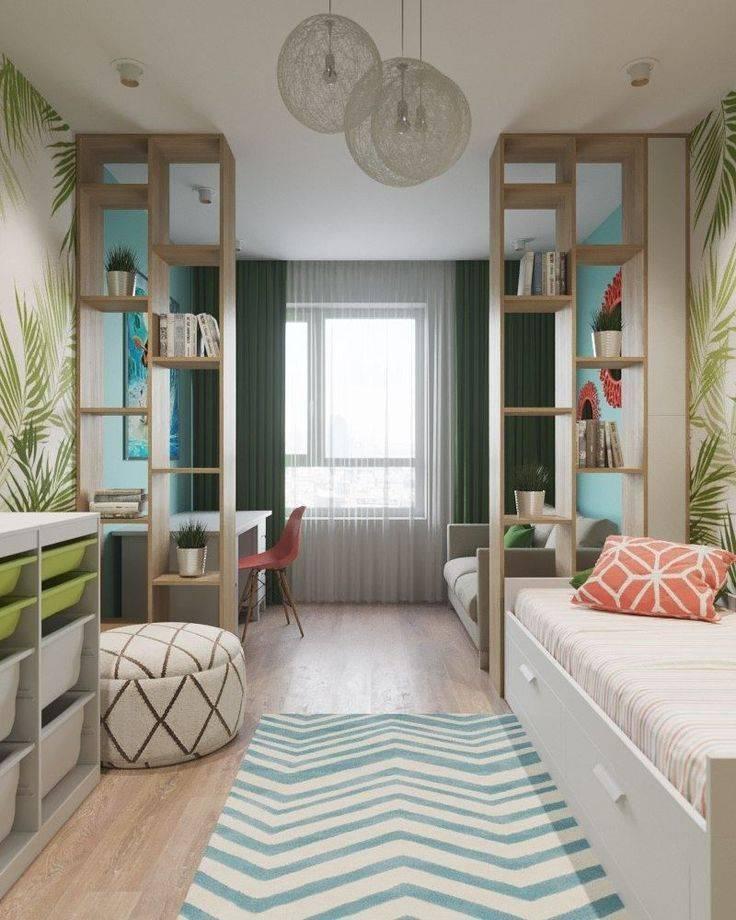 Дизайн комнаты для двух мальчиков-подростков - уютный дом