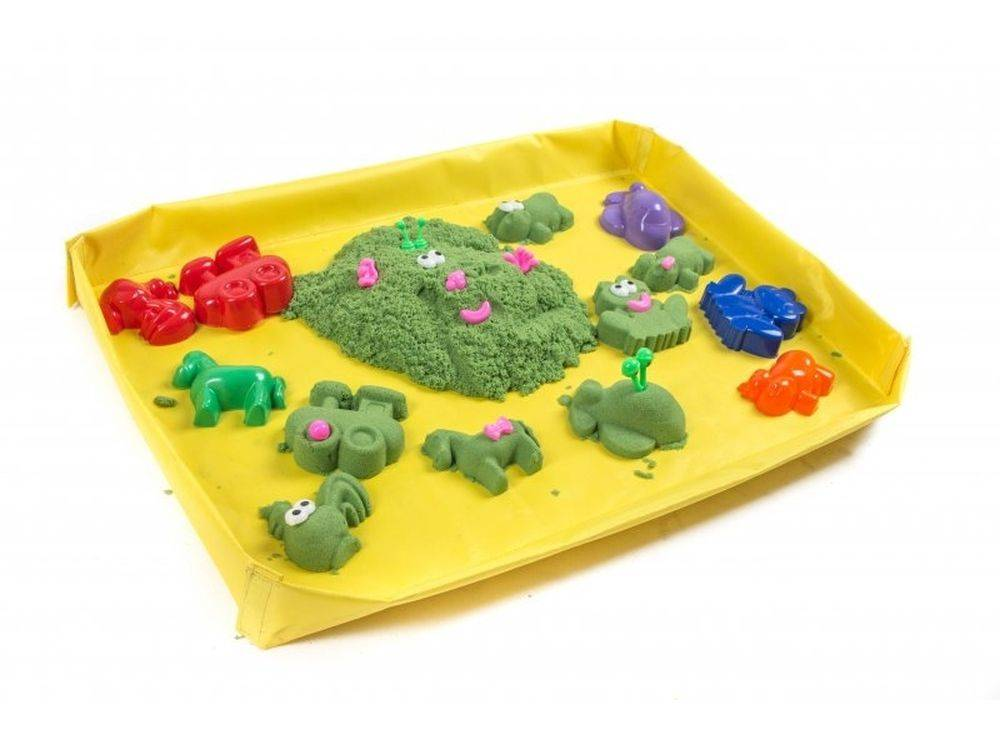Кинетический песок для детей: его виды, плюсы и минусы, инструкция по безопасному использованию