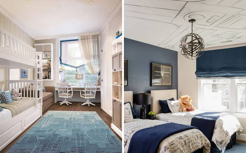 25 идей оформления комнаты для мальчика 5-7 лет