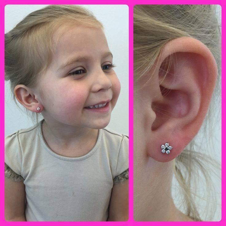 Чем обрабатывать уши после прокола ребенку