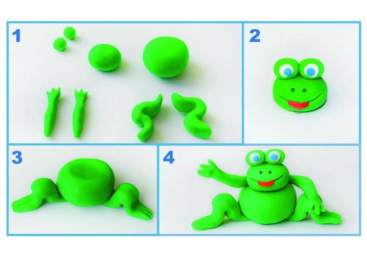Лепка из пластилина фигурок: 25 пошаговых мастер классов для детей с фото и видео уроком