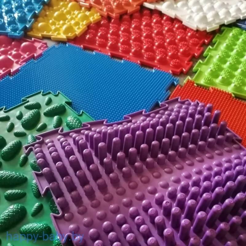 Массажный коврик для детей своими руками: 100% пользы и никакого вреда