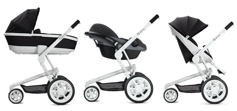 Как выбрать коляску для новорождённого