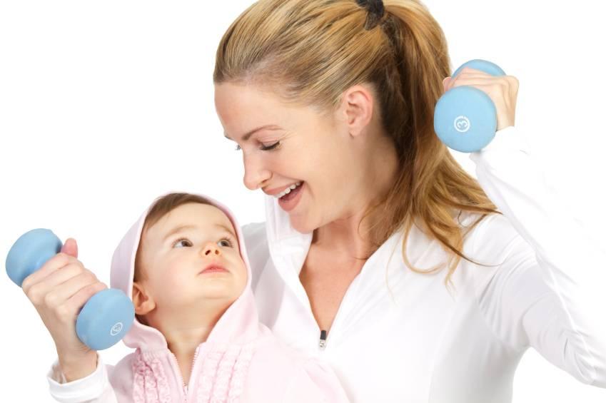 Когда можно заниматься спортом после родов кормящей маме?