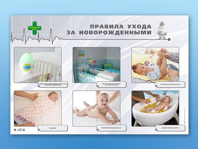 Уход за новорожденной девочкой в первый месяц жизни после роддома