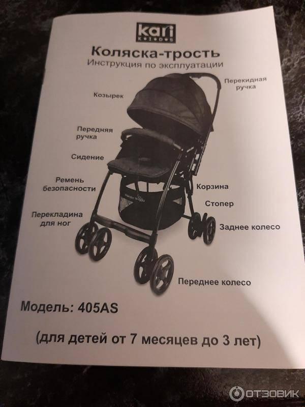 Как выбрать прогулочную коляску: трость или книжка?   покупки   vpolozhenii.com