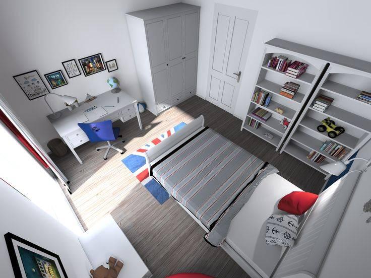 Дизайн детской комнаты для мальчика - 90 фото интерьеров после ремонта, красивые идеи