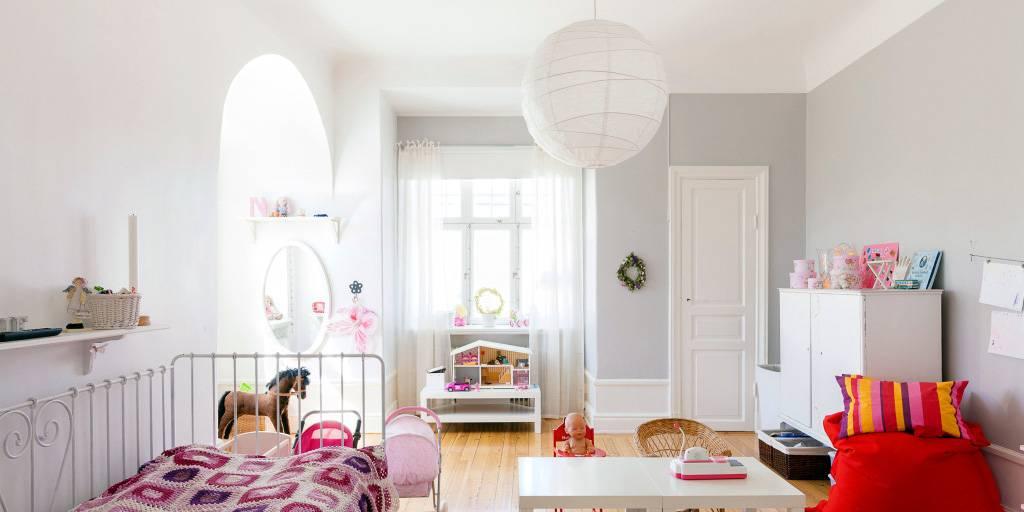 Детская в скандинавском стиле - дизайн детской комнаты