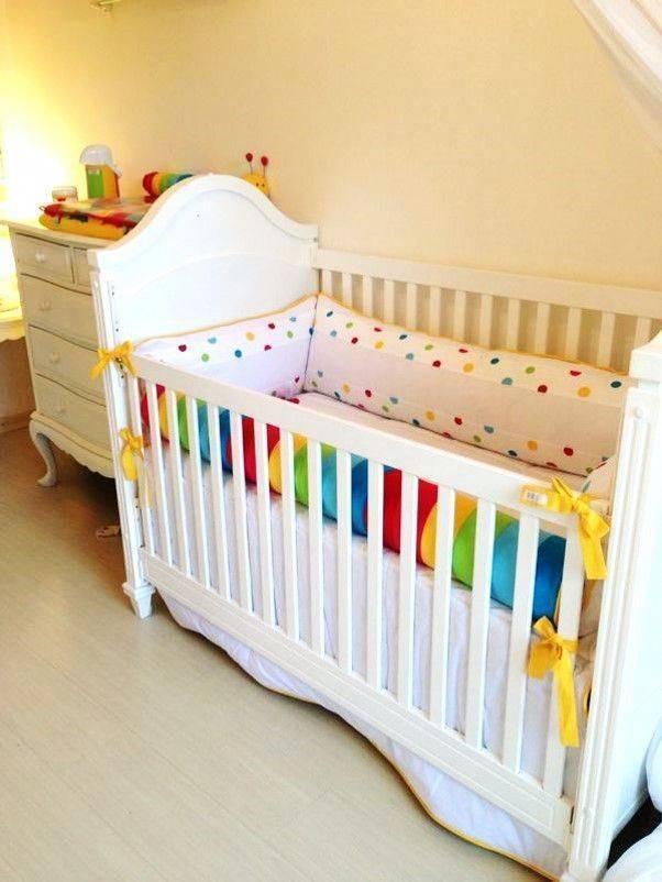 Чем покрасить детскую кроватку из дерева? - папа карло