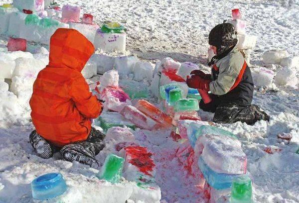 Зимние развлечения на улице. 12 способов весело и полезно провести время со снегом и морозом
